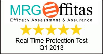 MRG-Effitas 2013 Q1 award